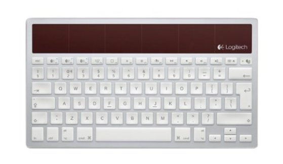 teclado solar inalambrico para mac ipad iphone