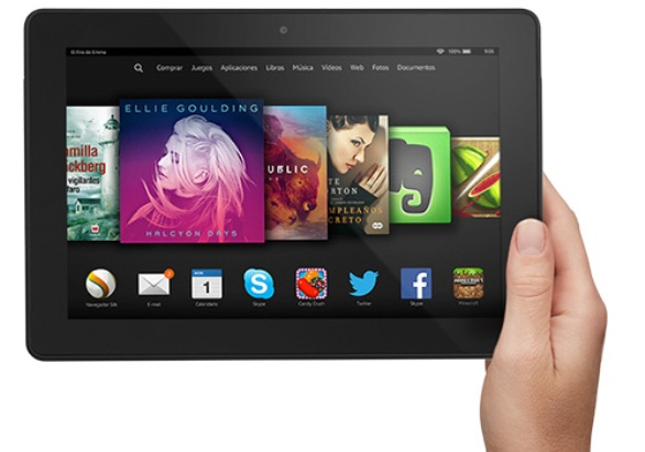 mejor tablet kindle fire amazon recomendada